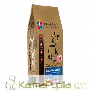 Lincoln Ultra Premium Adult Small Breed Salmon&Rice 12kg
