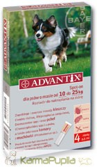 Bayer Advantix Spot On 10-25kg