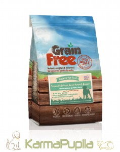 Natural Pet Food Grain Free Tuńczyk z łososiem, batatami i brokułami 12kg