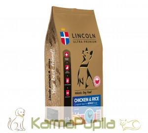 Lincoln Ultra Premium Adult Chicken&Rice 12kg