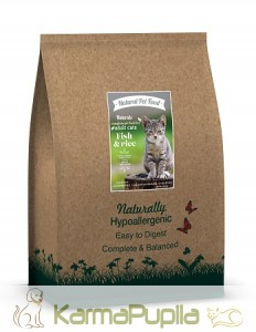 Natural Pet Food Naturals z Rybą  dla kota 2kg