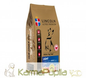 Lincoln Ultra Premium Adult Light Chicken&Rice 12kg