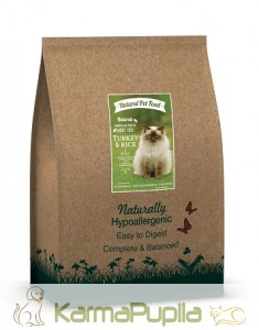 Natural Pet Food Naturals z Indykiem dla kota 0,3kg