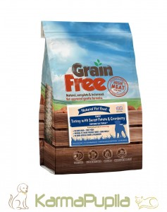 Natural Pet Food Grain Free Indyk z batatami i żurawiną Senior 12kg