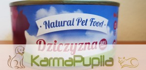 Natural Pet Food z dziczyzną dla kota 300g