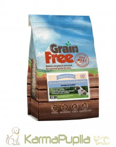 Natural Pet Food Grain Free Large Breed Puppy Łosoś z batatami i warzywami 12kg