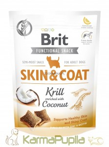 Brit Care Functional Snack Skin Coat 150g